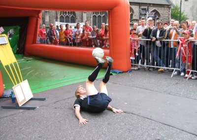 John Farnworth – Professional Freestyle Footballer