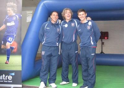 Jimmy Bullard, Michael Chopra & Aaron Cresswell – Ipswich Town FC