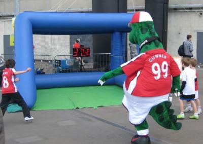Gunnersaurus – Arsenal FC Mascot