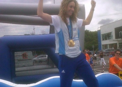 Amy Williams – Winter Olympic Gold Medallist – Skeleton