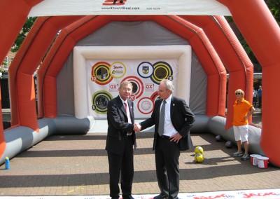 Alex Ferguson and Sven Goran Erikkson – Look-a-Like Football Managers