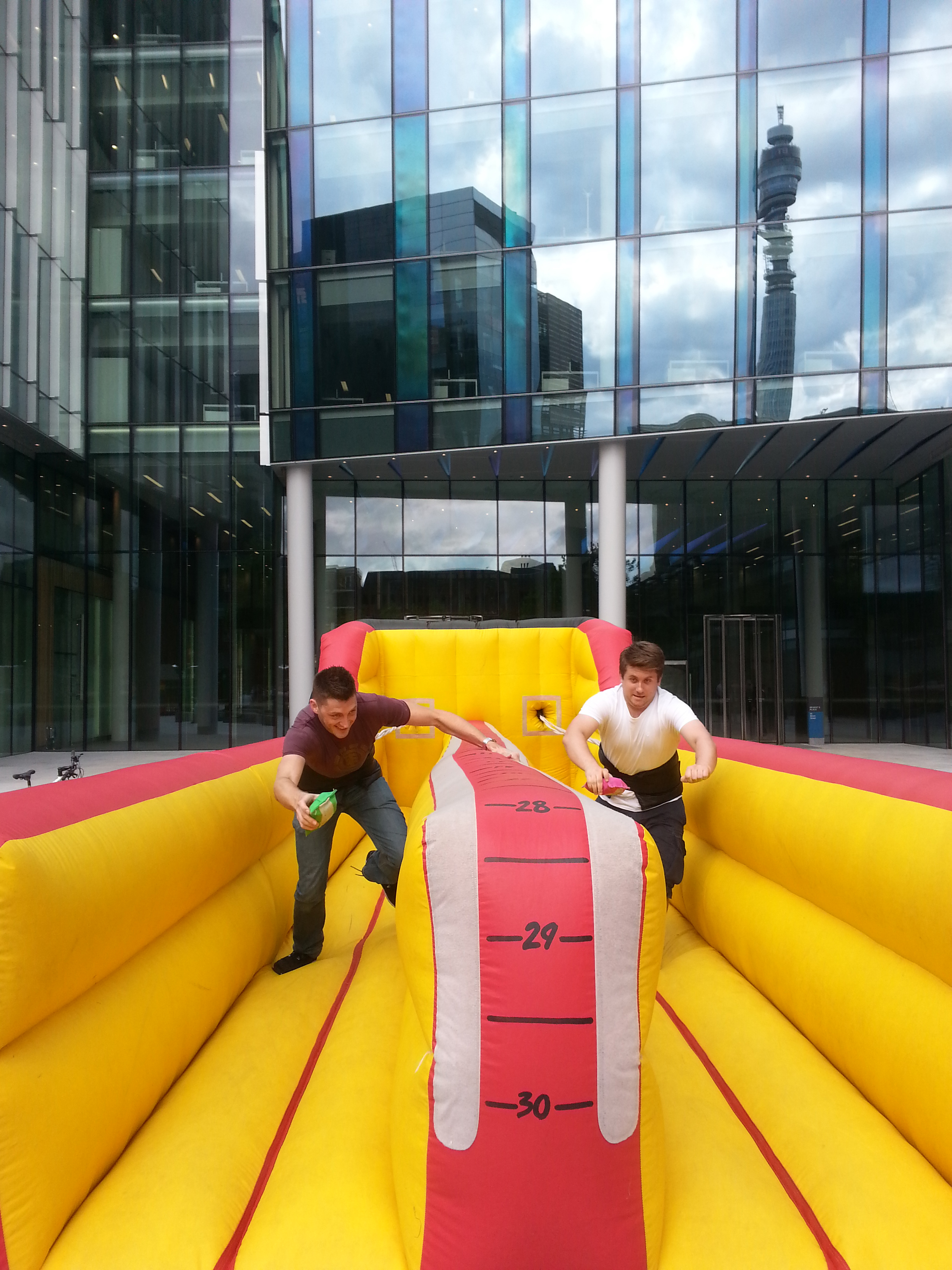 Bungee Run Fun Inflatables Sports Inflatable Sales