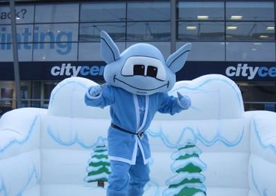 Moonchester – Manchester City FC Mascot