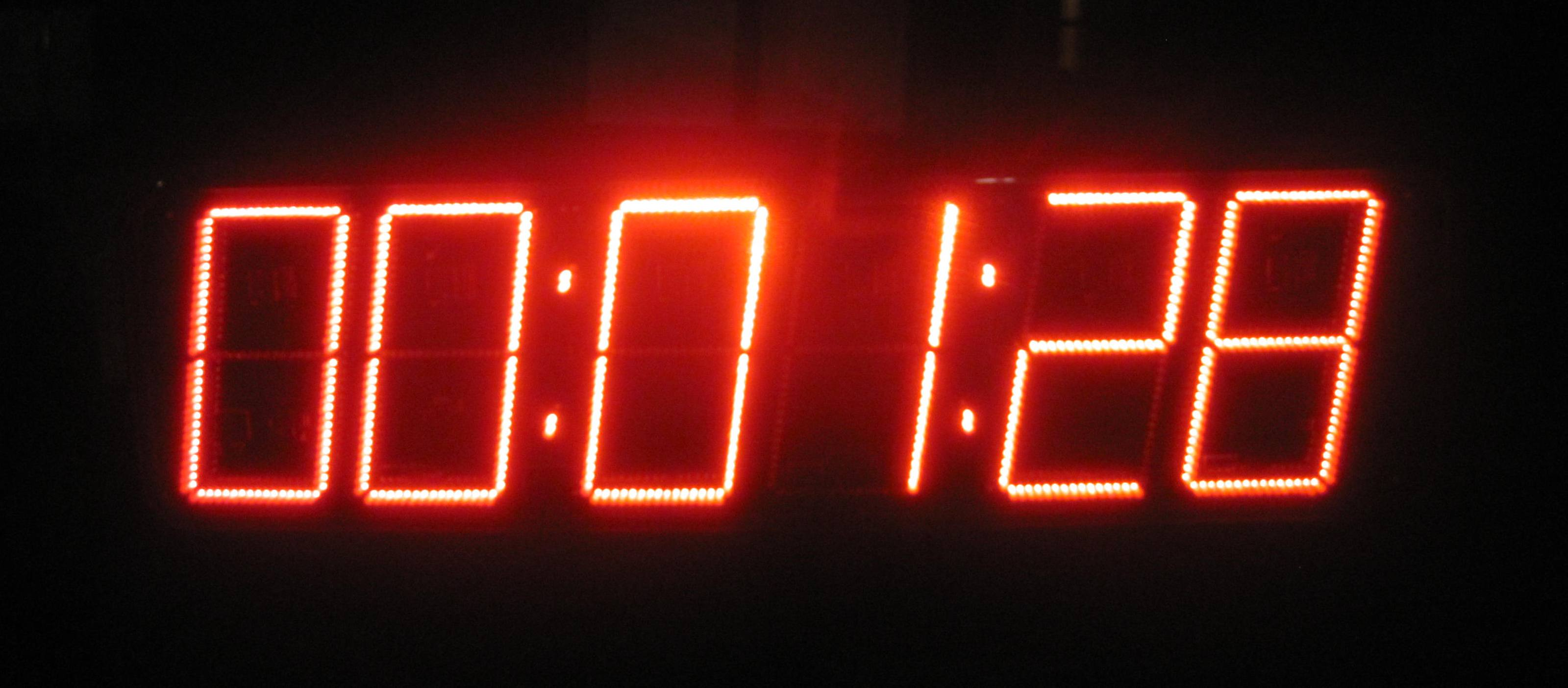 Race Clock - Sports Equipment Hire - Shoot4Goal