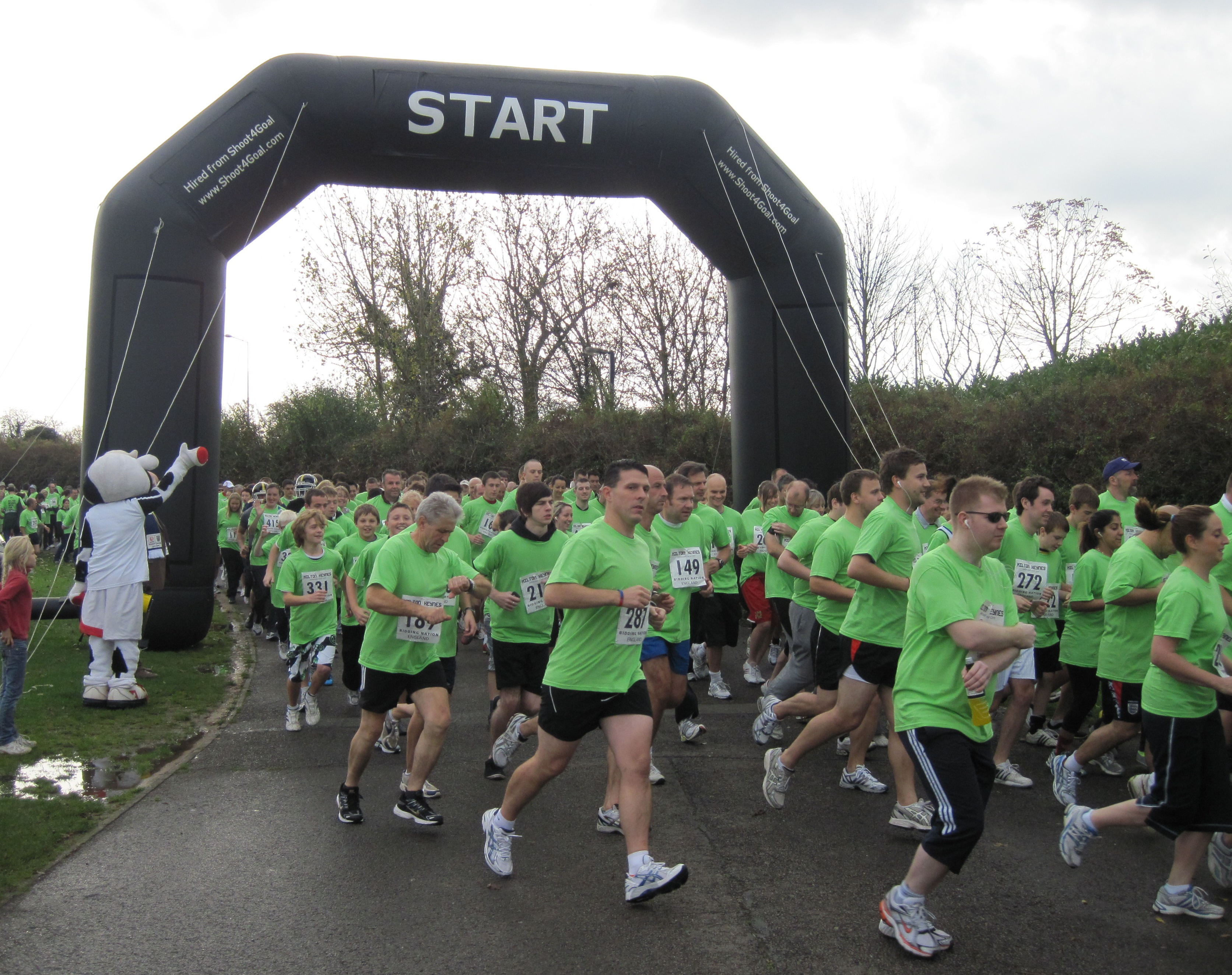 start    finish line arch - race event services