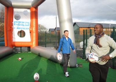 Martin Offiah & Richie Myler Rugby League Stars