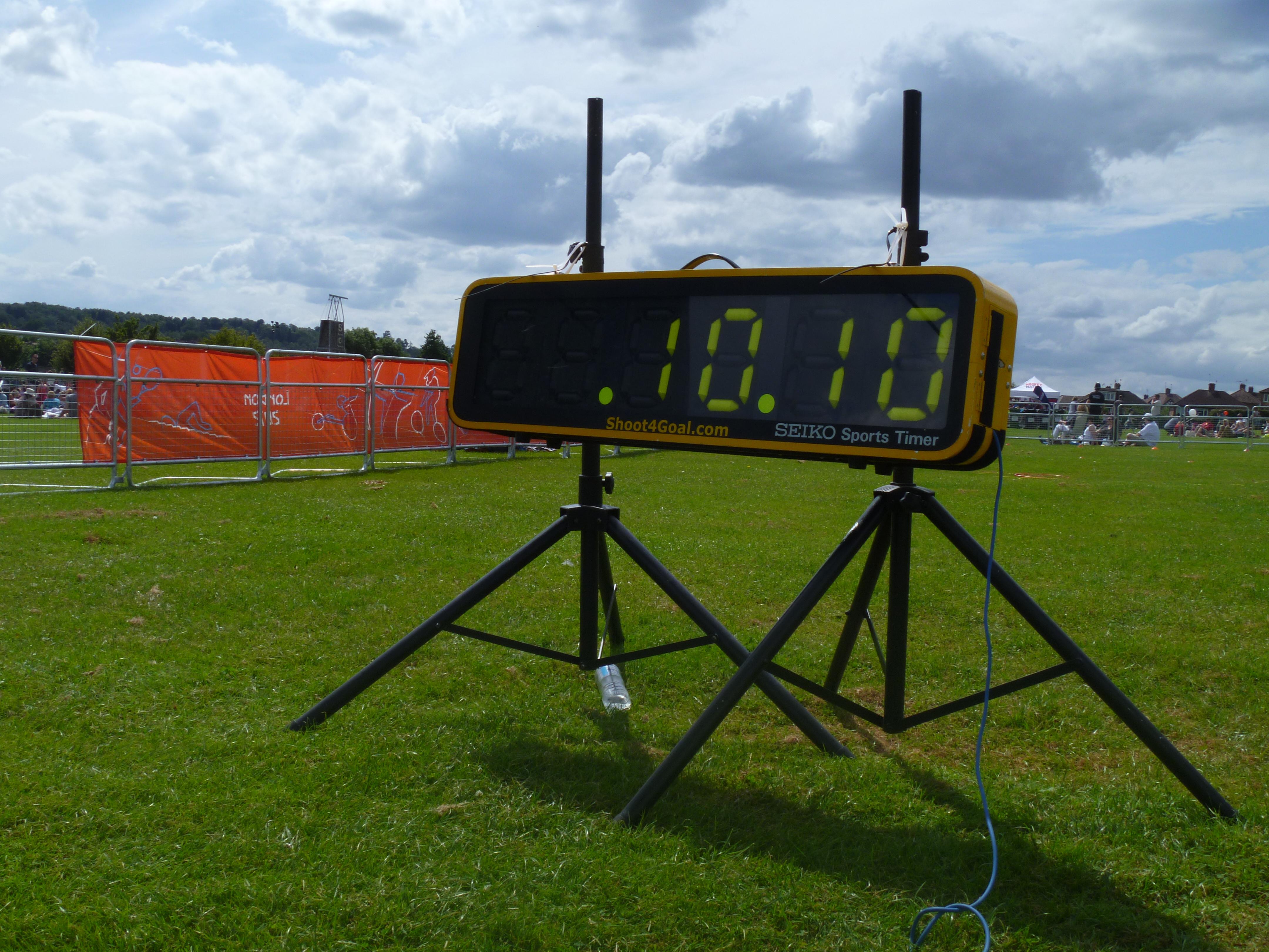 Seiko Sports Clock