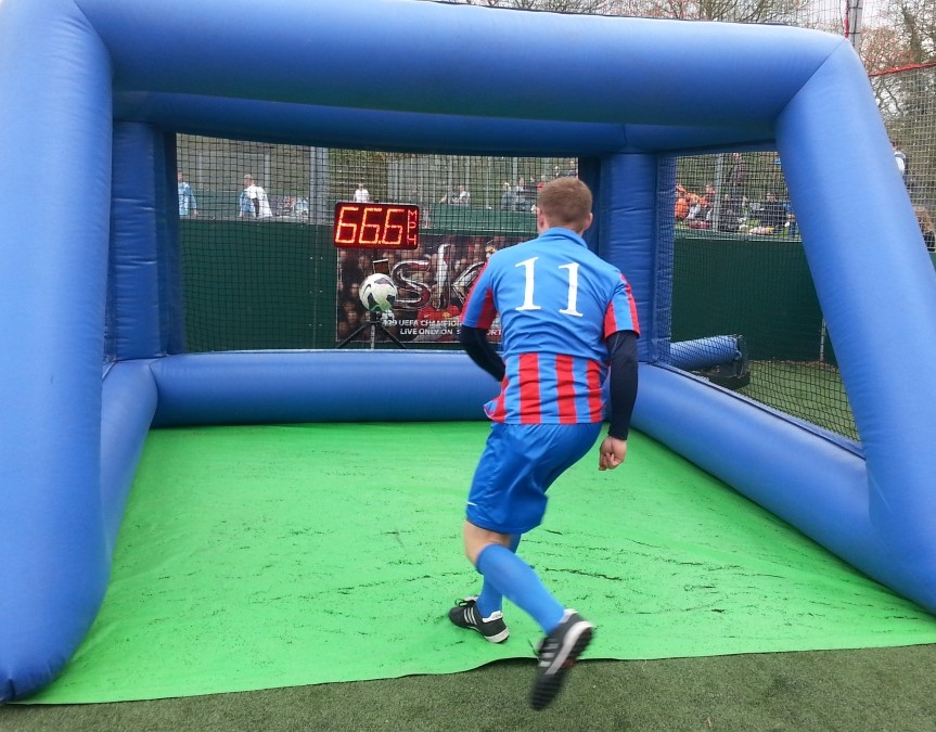 Single Player, Socially Distanced, Inflatable Sports Games to Hire