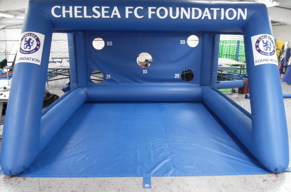 Chelsea FC take delivery of a Football Shoot Out