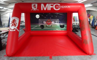Proud to Deliver Football Inflatables to Big Name Clubs